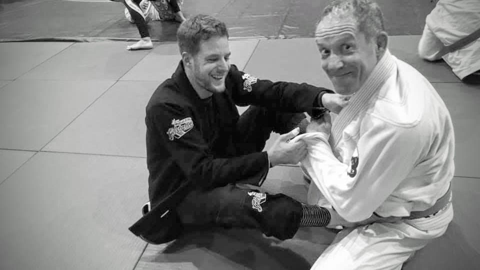 Picture of Pascal practicing BJJ